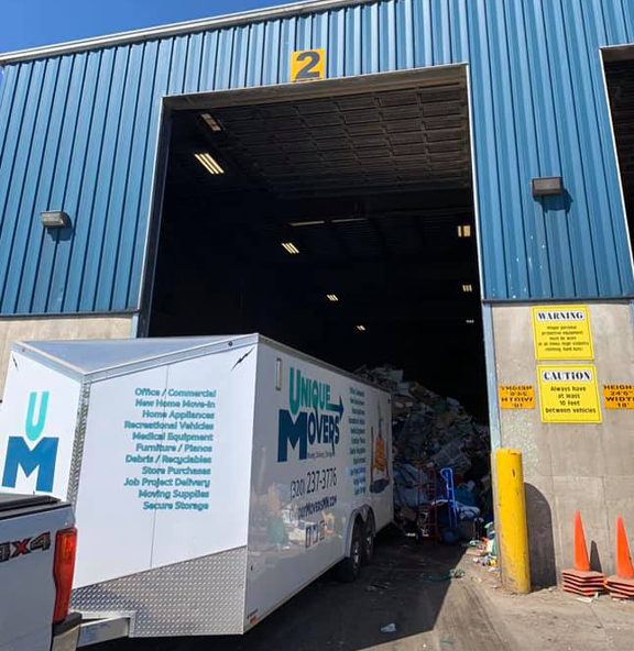 Unique Movers Junk Removal & Trash Disposal