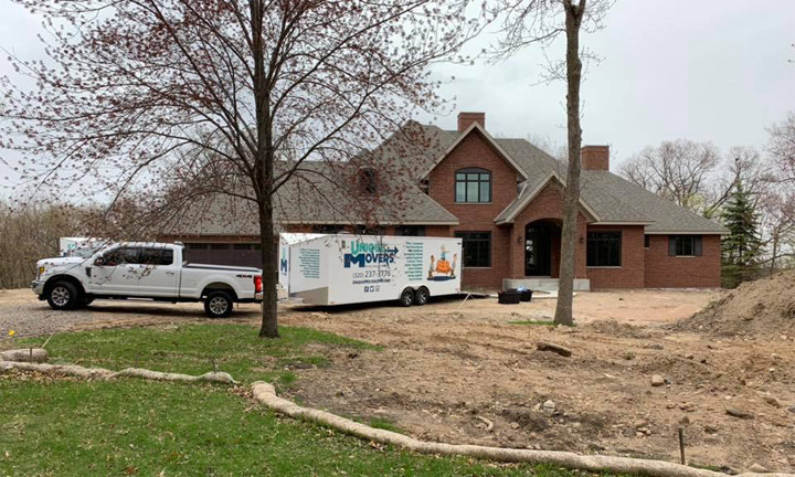 Unique Movers residential moving. Our team moved this Sauk Rapids family into their new home.