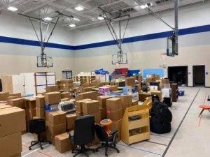 School Move In Brainerd, MN