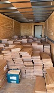 1400 pull tab boxes for Waite Park American Legion