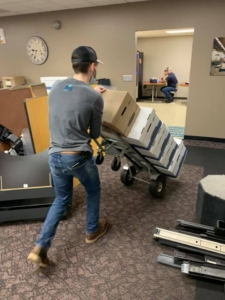 Commercial Movers Sartell MN Dezurik Move 1