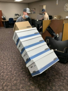Commercial Movers Sartell MN Dezurik Move 4