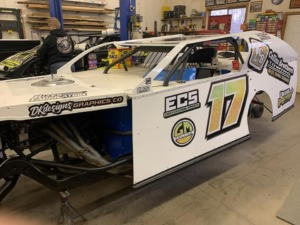 Racecar Sponsor Ashley Mehrwerth