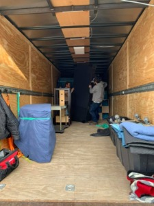 Residential Move Becker, MN hold belongings overnight