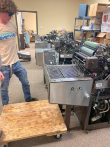 Commercial Move Specialty Move Printing Press Move