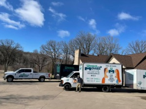 Residential Move Specialty Move Load Night Before Becker MN