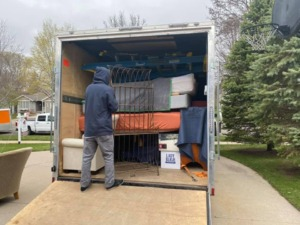 Residential Move St. Cloud MN to Breezy Point MN