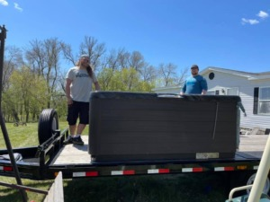 Residential Move Specialty Move Hot Tub Move Inver Grove Heights, MN to Albany, MN