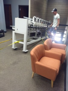 Commercial Moving Embroidery Machine Michigan to Minnesota