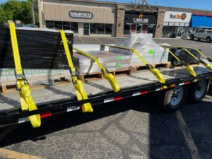Construction Product Delivery Commercial Moving Project