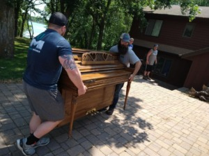 Residential Move Specialty Move 2 Pianos 1 Safe 8