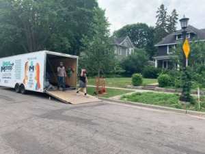 Residential Moving St. Paul MN to Little Falls MN